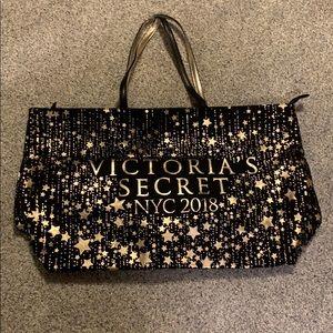Canvas Victoria's Secret tote bag